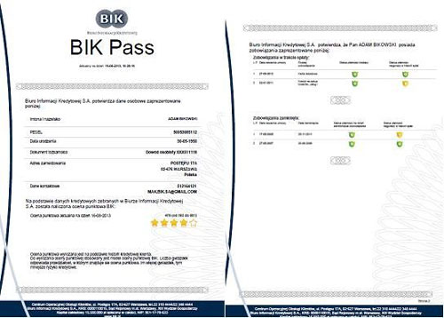 Co to jest BIK - Pass i czy opłaca sie go uzyskać?