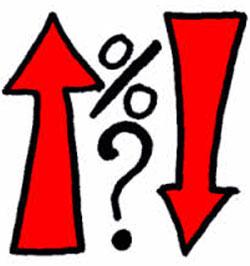 Stopy procentowe w dól koszty kredytów w dół